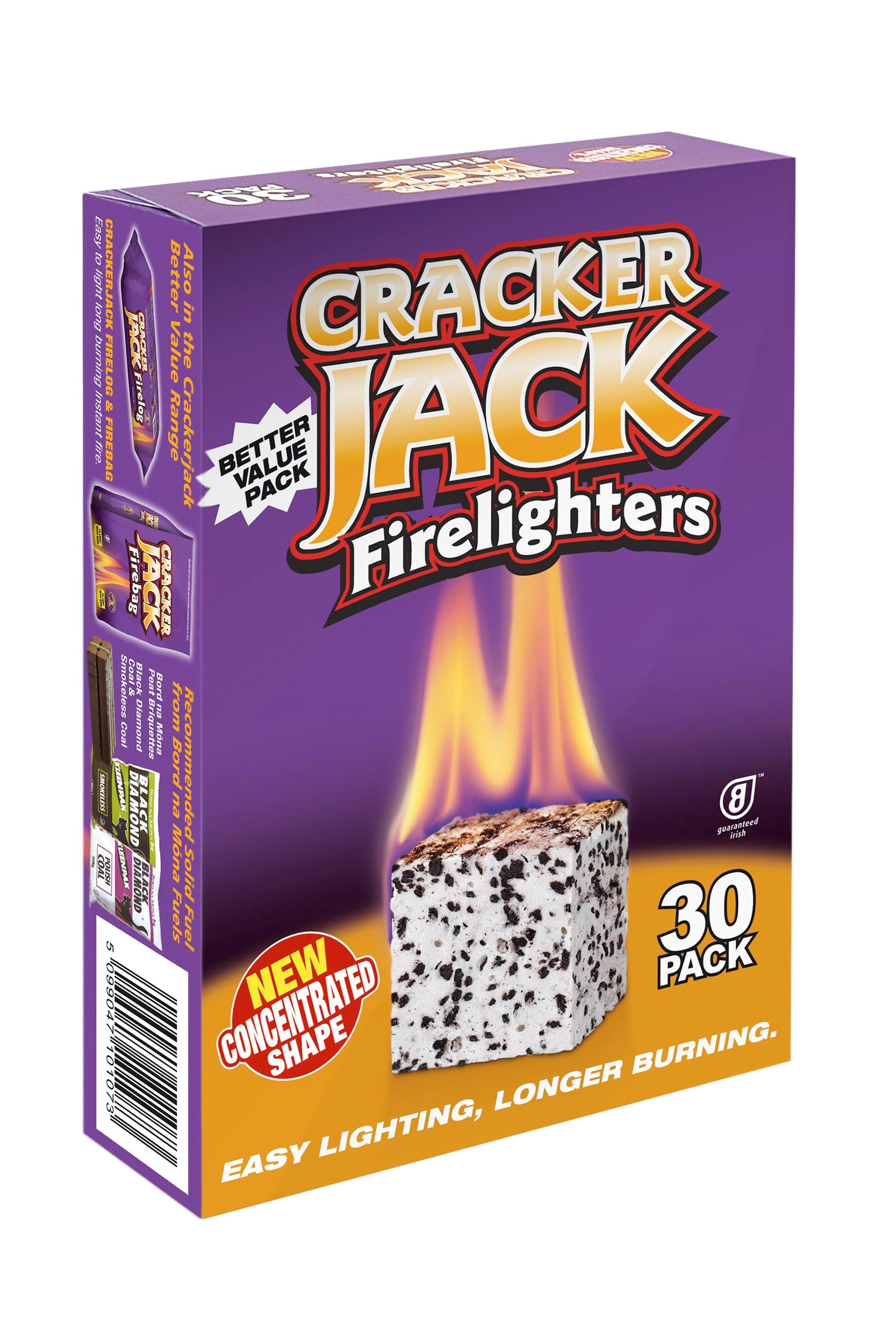 Bord na Móna  Crackerjack Firelighters - 30 Pack