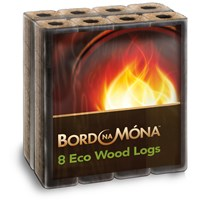 Bord na Móna  Eco Wood Log - 8 Pack