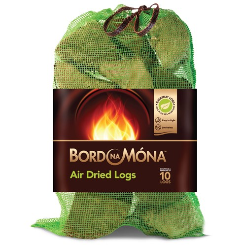 Bord na Móna  Air Dried Logs - 10/12 Logs