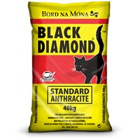 Bord na Móna Black Diamond Standard Anthracite Coal - 40kg