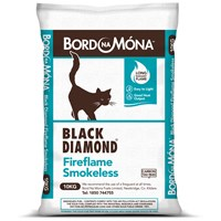Bord na Móna Black Diamond Fireflame Smokeless Coal - 10kg