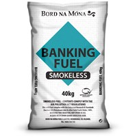 Bord na Móna  Banking Fuel Smokeless Coal - 40kg