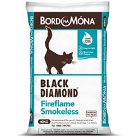 Bord na Móna Black Diamond Fireflame Smokeless Coal - 40kg