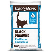 Bord na Móna Black Diamond Easiflame Smokeless Coal - 20kg