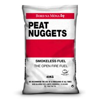 Bord na Móna  Smokeless Peat Nuggets - 40kg