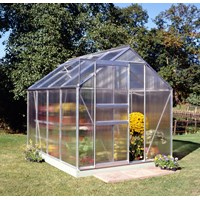 Halls  Polycarb Greenhouse - 8 x 6ft