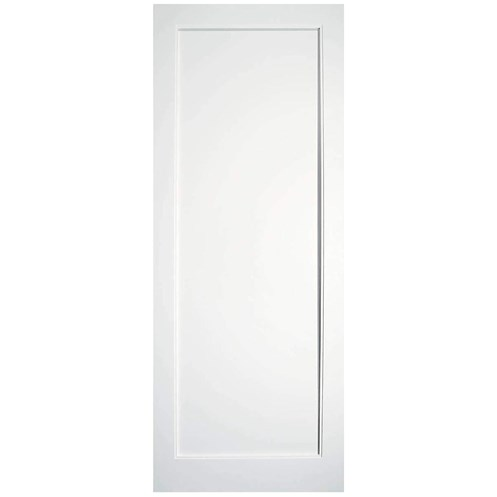 InDoors  Kenmore Single Panel Interior White Door - Pre-primed