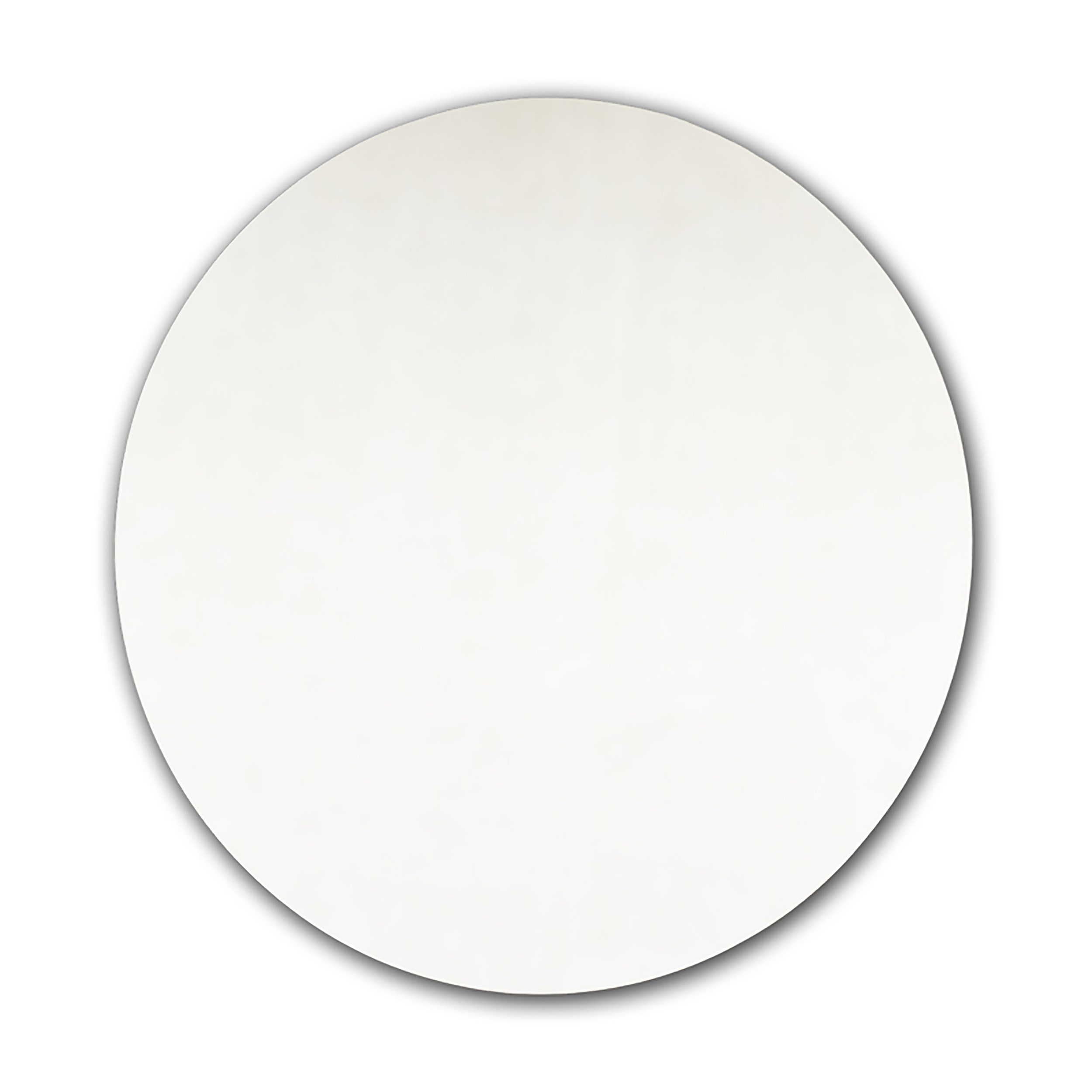 Tema Easy Fit Self Adhesive Round Mirror 40cm Bathroom