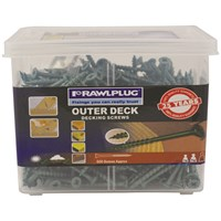 Rawlplug Outerdeck Decking Screws - 200 Pack