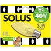 Solus  BC Candle Halogen Energy Saver Light Blub - 30W