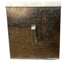 Phoenix  Galvanised Ash Safe - Medium