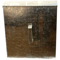 Phoenix  Galvanised Ash Safe - Large