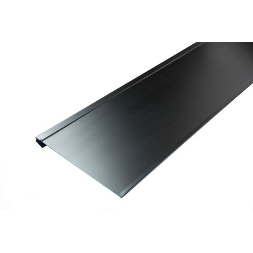 Tegral  C07 Aluminium Valley Trim Slate -  Black