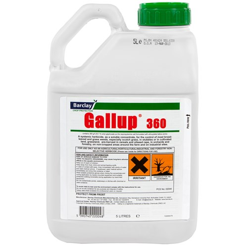 Gallup 360 Weed Killer 5 Litre Lawn Feed Amp Weed Killer