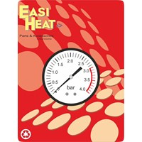 Easi Heat  1/4in Back Inlet Pressure Gauge