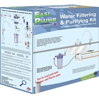 Easi Plumb  Water Filtering & Purifying Kit