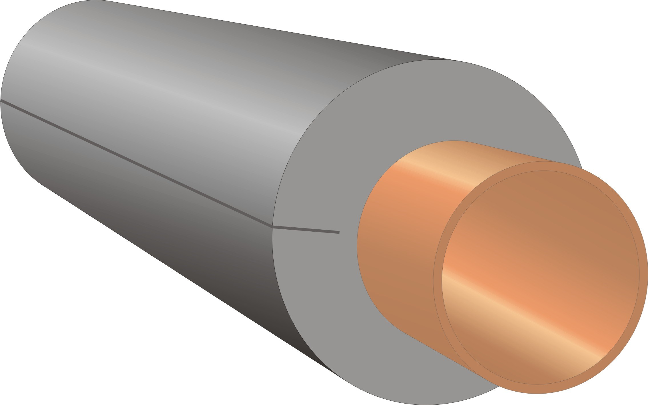 Economiser  CosySleeve Pipe Insulation - 1in x 1m