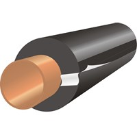 Economiser  AeroFlex Slit Pipe Insulation - 1in x 1m