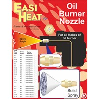 Easi Heat  60° Solid Spray Angle Oil Burner Nozzle