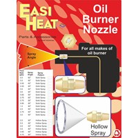 Easi Heat  60° Hollow Spray Angle Oil Burner Nozzle