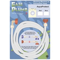 Easi Plumb  AquaProtect Appliance Hose - Red