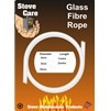 Stove Care  Glass Fibre Rope - 6mm x 2m
