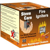 Stove Care  Fire Igniters - 50 Pack