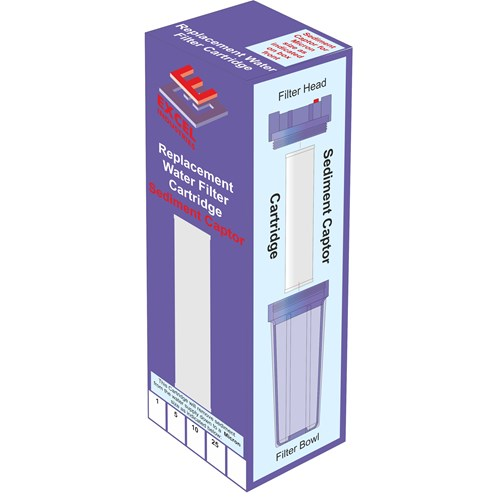 Excel  Filter Cartridge 10 Micron Sediment Captor