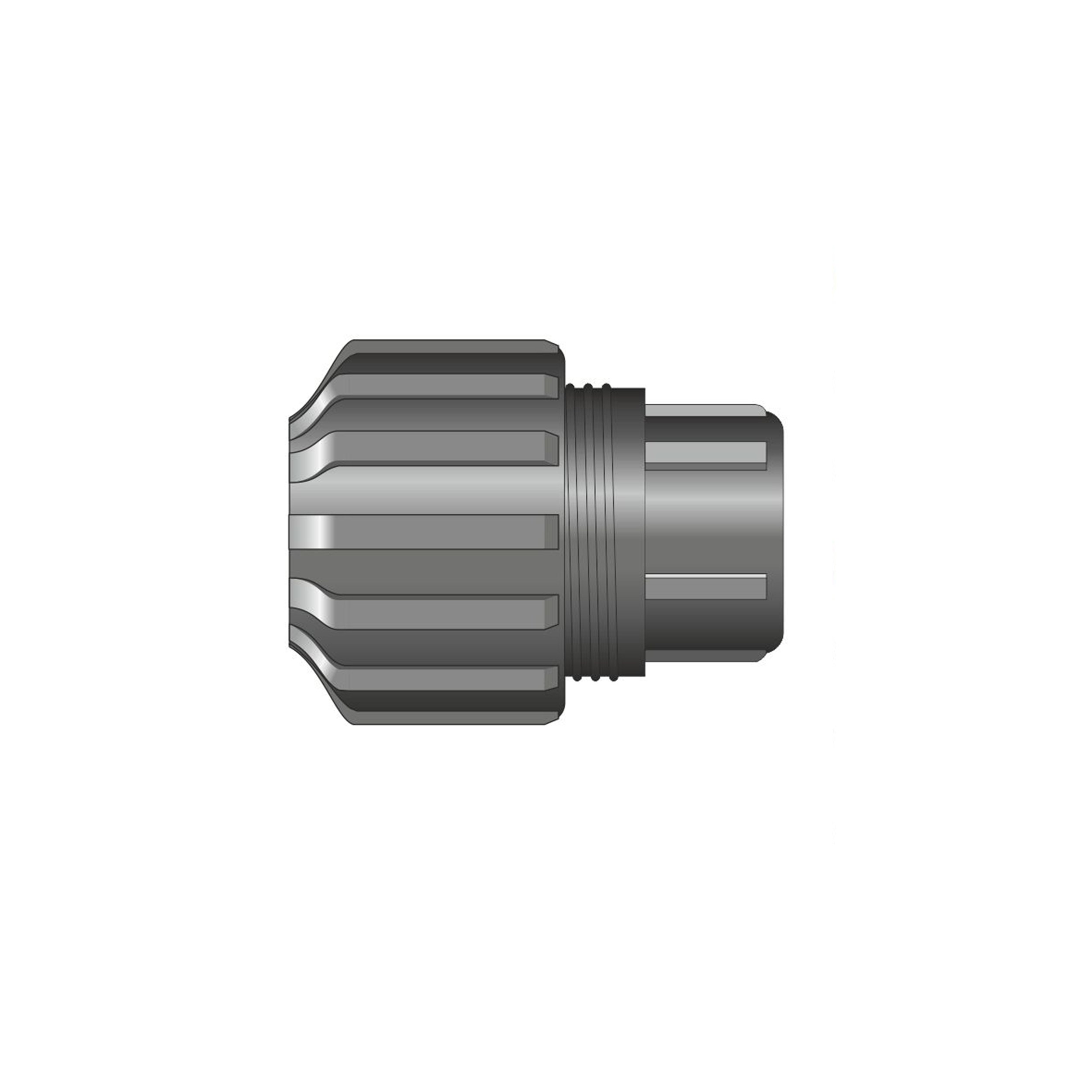 Easi plumb plastic compression end cap pipe fitting