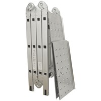 ABC Abrasives  3.5M Multi Position Ladder with Platform