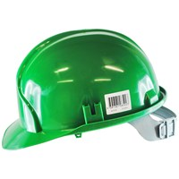 Safeline  Green Safety Helmet With Head Support