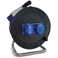 Safeline  Blue Artic Cable Reel With 16 Amp Plug - 40 Metre