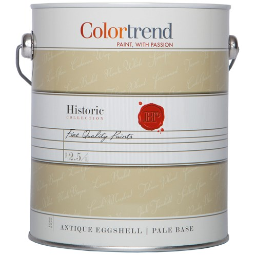 Colortrend  Antique Eggshell Pure Brilliant White Paint - 2.5 Litre