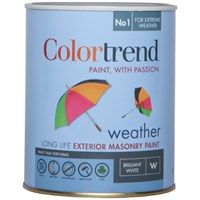 Colortrend  Weather Exterior Masonry Colours Paint - 1 Litre