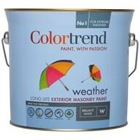 Colortrend  Weather Exterior Masonry Colours Paint - 3 Litre