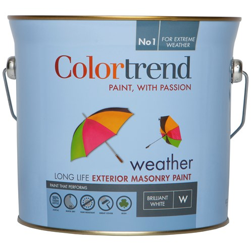 Colortrend Weather Exterior Masonry Colours Paint 3