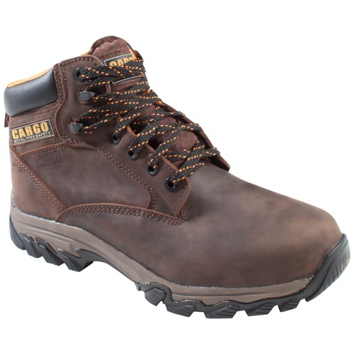 Cargo Quest Metal Free Safety Boots  Brown