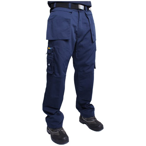 Cargo  Cobalt Work Trousers - Navy