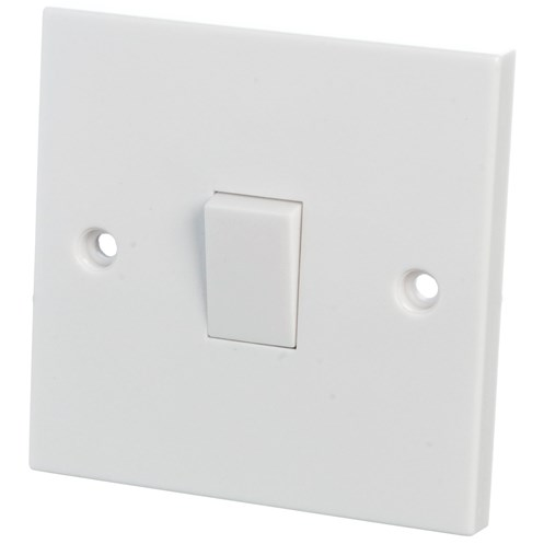 Powermaster 1 Way Switch - 6 Amp 1 Gang | Switches & Sockets ...