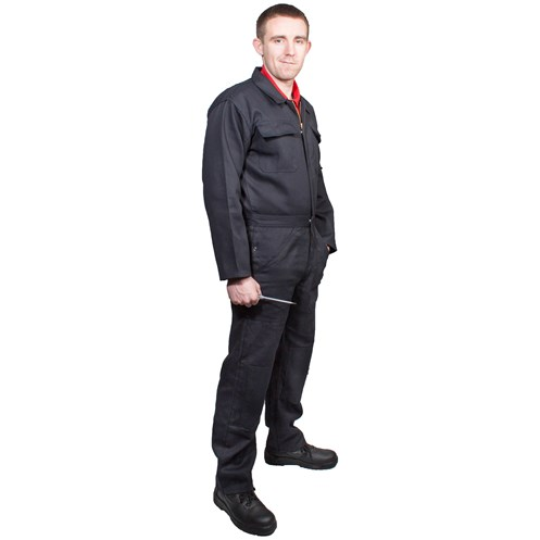 Bodyworks  Shark Boiler Suit - Navy