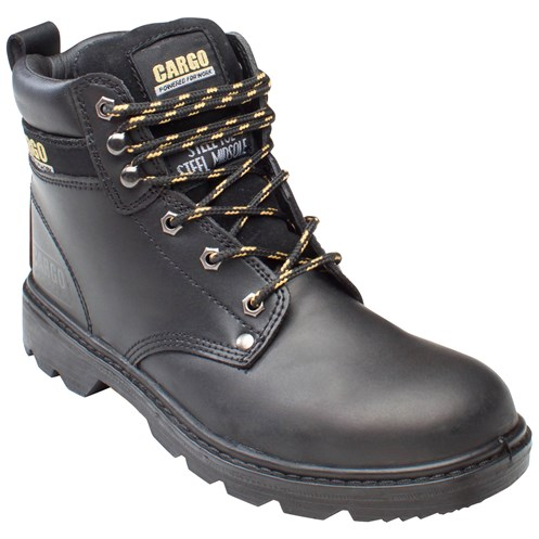 Cargo Stallone Safety Boots  Black