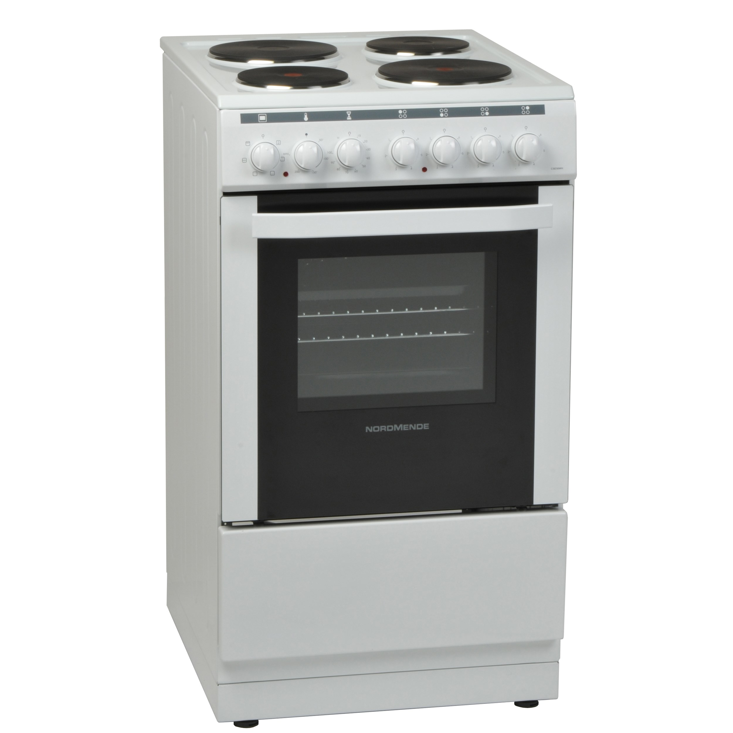 NordMende  White Freestanding Electric Cooker - 50cm