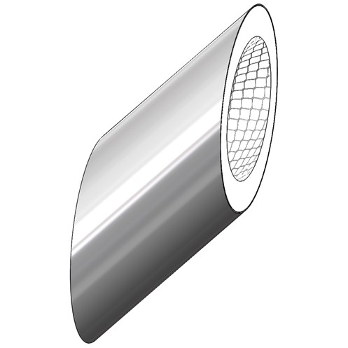 Mi-Flues System 7 Mesh Insulated Sleeve 45° Flue Pipe