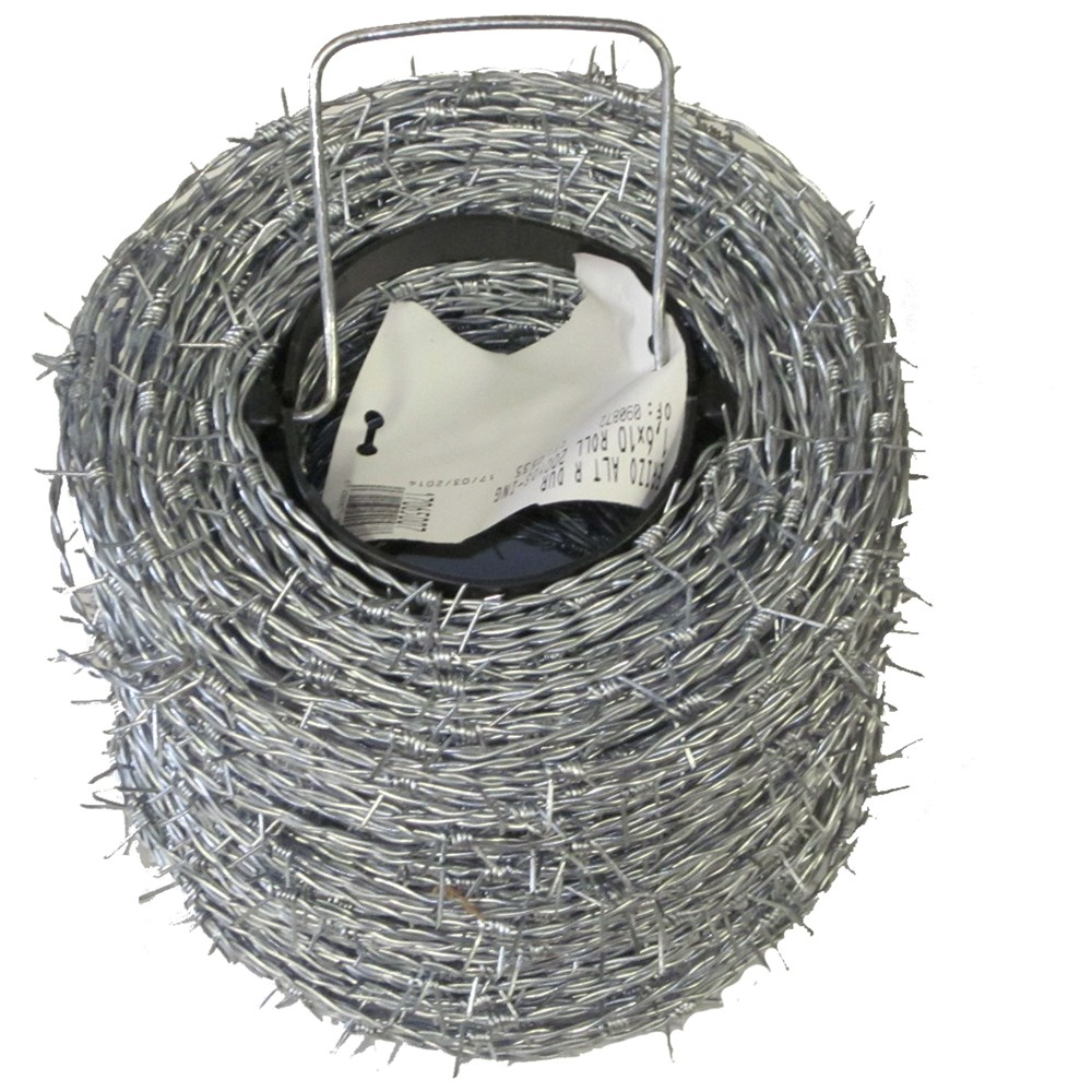 BAT Metalwork High Tensile Roll Barbed Wire - 200m Roll | Wire ...