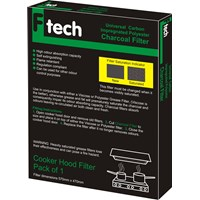Fiber Tech  Green Universal Polyester Charcoal Filter