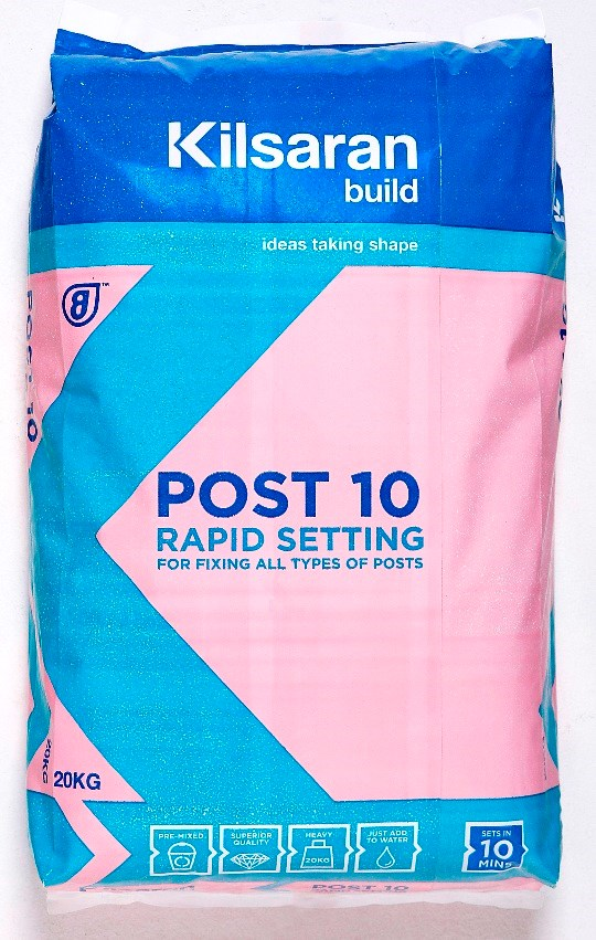 Kilsaran  Post 10 Concrete- 20kg