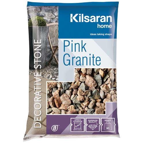 Kilsaran  Pink Granite Decorative Stone - 25kg