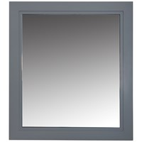 Bathroom Studio  Charlotte 60cm Mirror Slate Grey