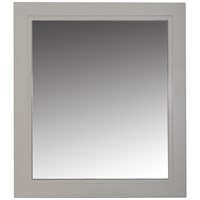 Bathroom Studio  Charlotte 60cm Mirror Stone White