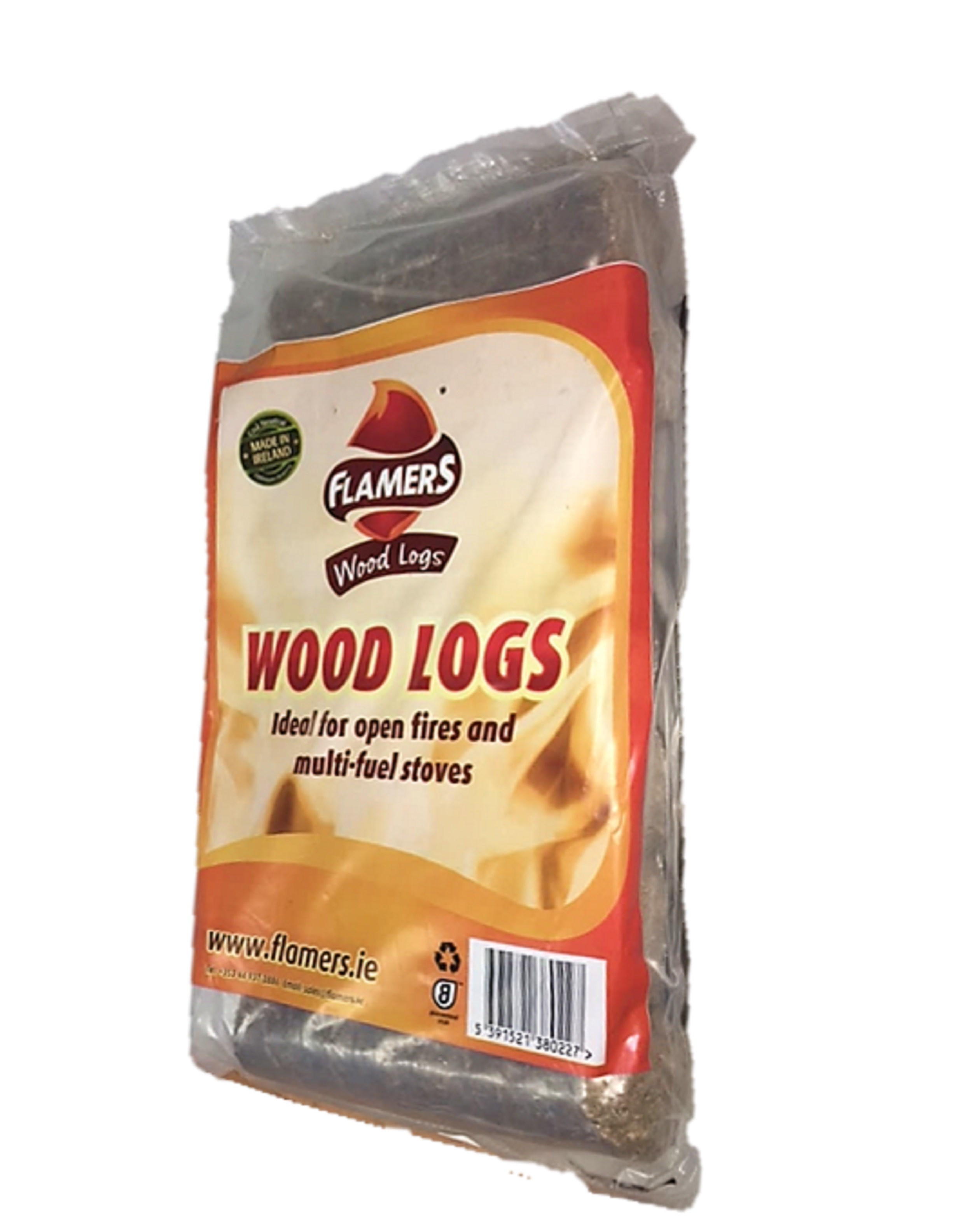 Flamers  Bag of 7 Wood Logs